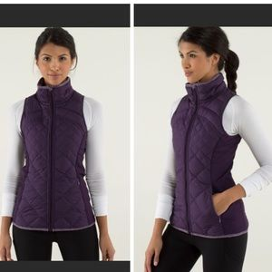 "Lilulemon ""Fluff Off"" Vest • Deep Purple"